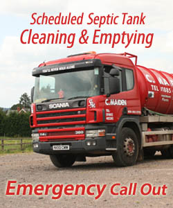 Charles Maiden Waste Disposal Herefordshire - Septic Tank Empting - Emergency Call Out